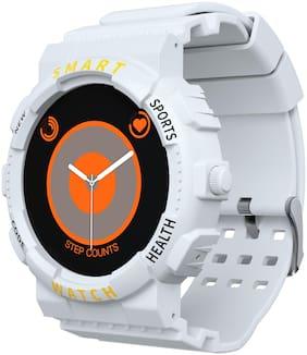 Unisex Off White Smart Watch