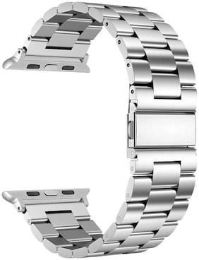 Stainless Steel Strap Wrist Bands for iWatch Apple Watch 44mm Series 5 Series 4