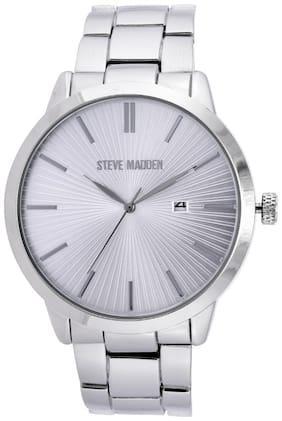 Steve Madden Analog Silver Dial Men's Watch