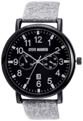 Steve Madden Analog Black Dial Men's Watch