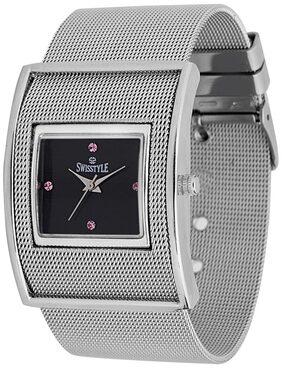 Swisstyle Silver Analog Watch