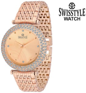 Swisstyle SS-LR075-CPR-CPR analog watch for women