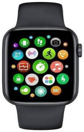 SYSTENE HW22 Smart Watch 44MM-INFINITY RETINA DISPLAY-CALLING-IP68|BLACK|