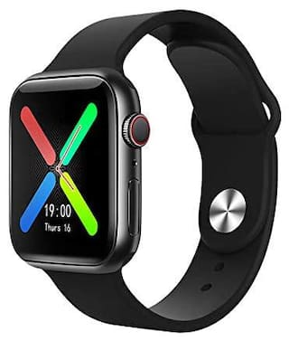 SYSTENE T500+ Smart watch;BLUETOOTH;ANDROID & APPLE Compatible FULLY FEATURED !!!!! - Black