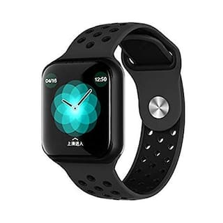 SYSTENE WearFit 2 Sports Health and Fitness Tracker Watch | Activity Tracker | Fitness Band | Rugged Fitness Tracker with Heart Rate;Blood Pressure/Oxygen Monitor & Big Color Display - Black