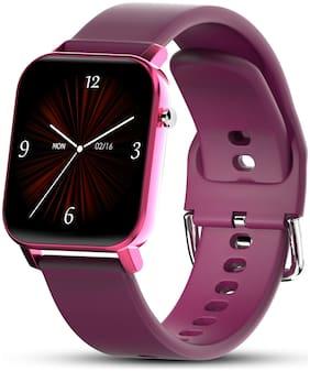Unisex Purple Smart Watch