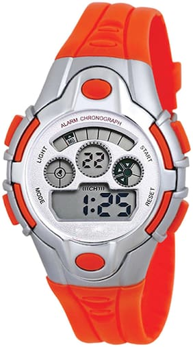 TIME UP Digital Display Alarm Function Sports Watch For Kids-MR-8502-D PINK