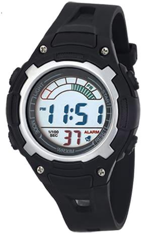 TIME UP Digital Display Alarm Function Sports Watch For Kids-MR-8529019-BLACK