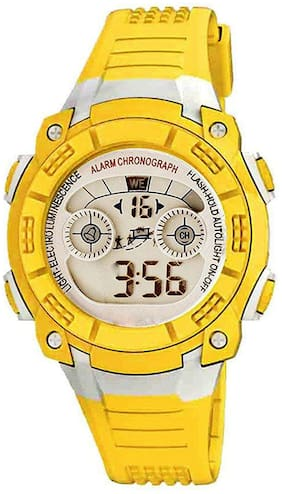 TIME UP Digital Display Alarm Function Sports Watch For Kids-MR-8017-BLUE