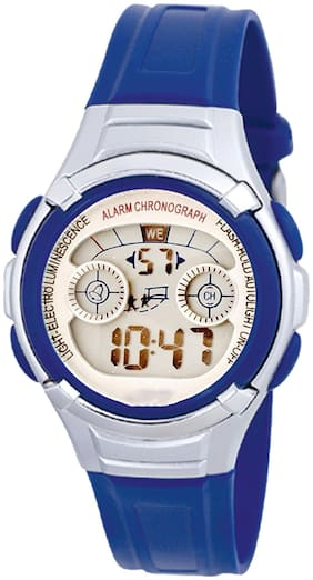TIME UP Digital Display Alarm Function Sports Watch For Kids-MR-8523B-BLUE