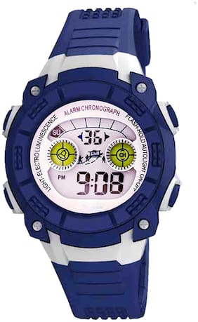TIME UP Digital Display Alarm Function Sports Watch For Kids-MR-8017-YELLOW
