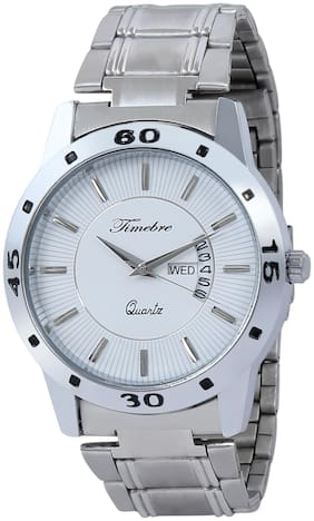 Timebre Ivory Time & Date Analog Watch
