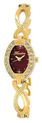 Timebre Women Daimond Luxurious Golden Analog Watch
