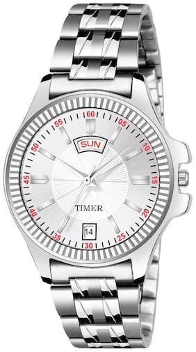 Timer DAY AND DATE  ANALOGUE WATCH FOR GIRLS TC-F02