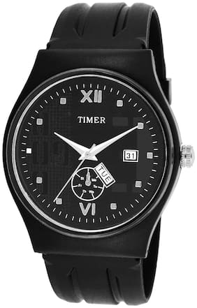 TIMER DAY AND DATE EXCLUSIVE SPORTY ANALOGUE WATCH FOR BOYS AND MEN TC-PW-330