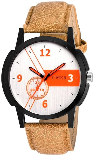 TIMER EXCITING SPORTY ANALOG WATCH FOR AND MEN