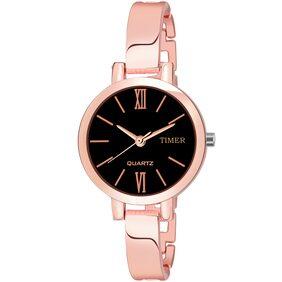 Timer stylish elegent looks analogue watch for girls and women TC-AA4