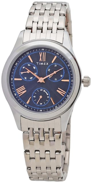 TIMEX Analog Blue Dial Women's watch - TW000W216