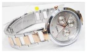 Timex Analog Silver Dial Women's Watch-TW000X214
