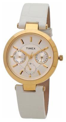 TIMEX Analog White Dial Women's watch - TWEL11809