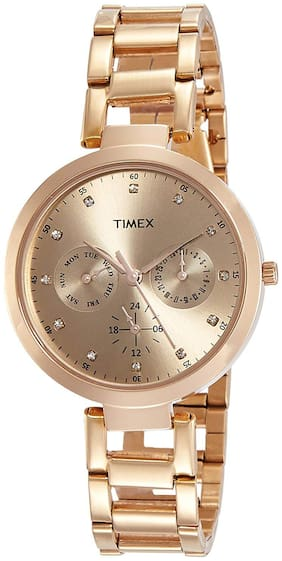 Timex Analog Brown Dial Women's Watch - TW000X209