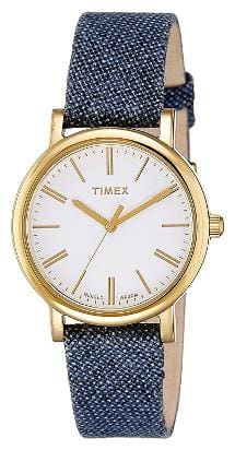 Timex Analog White Dial Women's Watch - TW2P638006S