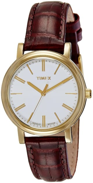 Timex Analog White Dial Women's Watch - TWH2Z91106S