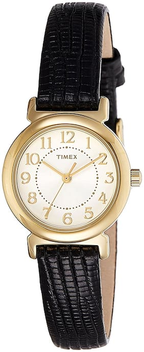 Timex Analog White Dial Women's Watch - T2P4306S
