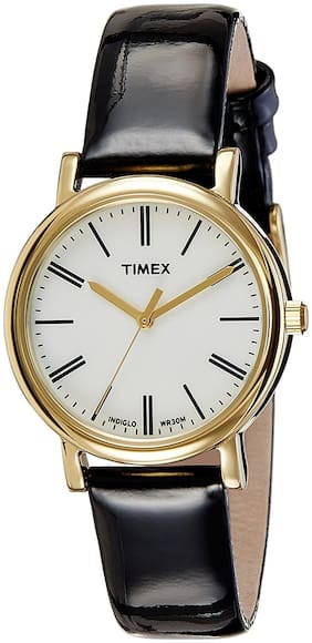 Timex Analog White Dial Women's Watch - T2P3716S
