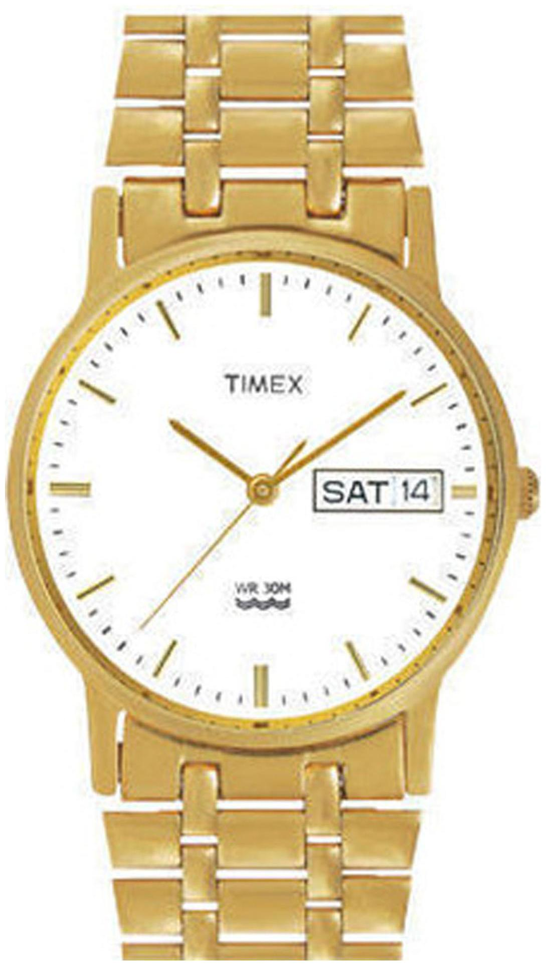 Timex Classics Analog White Dial Men's Watch   A503