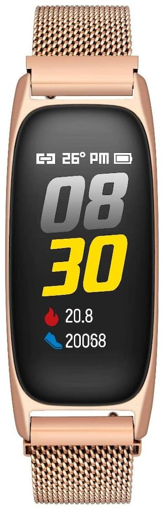 Timex Fitness Band Mesh Metal Rose Gold