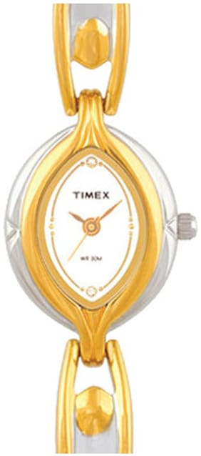 Timex G503 Gold Contemporary Analog Watch-G503