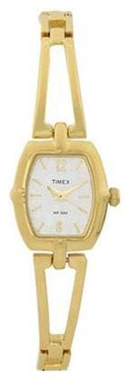 Timex Gold Tonneau Analog Watch-TW000W600-TW000W600