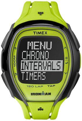 Timex Ironman  Sleek 150 Digital Black Dial Unisex Watch - TW5M004006S