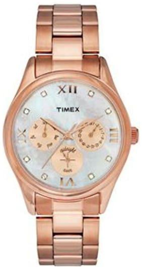 Timex Rose Gold Women's Watch Tw000w208