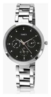 Timex Silver Chronograph Watch-TW000X205-TW000X205