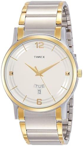 Timex TW000R424  Silver Analog Round Watch-TW000R424