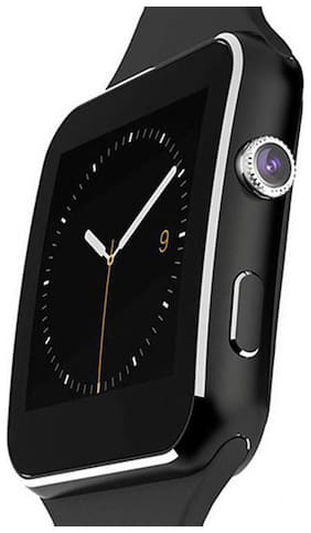 Tinix Watch X6 Compatible with all 3G , 4G Phone With Camera and Sim Card Support With Apps like Facebook and WhatsApp Touch Screen Multilanguage Android/IOS Compatible with all Android