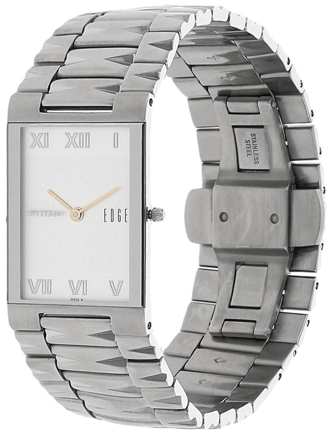 Cần bán đồng hồ nam, siêu mỏng dây kim loại TITAN 1296SM01 (nhập khẩu từ Mỹ)