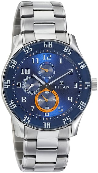 41c4fe5ec2e Buy Titan 1632SM03 Men Analog Watches Online at Low Prices in India ...