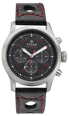 Titan 1634Sl05 Octane Analog Watch - For Men