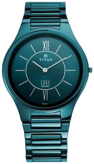 Titan 1696QC03 Men Blue - Analog Watch