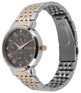 Titan 2569KM03 Neo Black Dial Multifunction Watch for Women