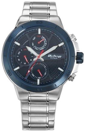 Titan 90091KM01 Men Chronograph watch