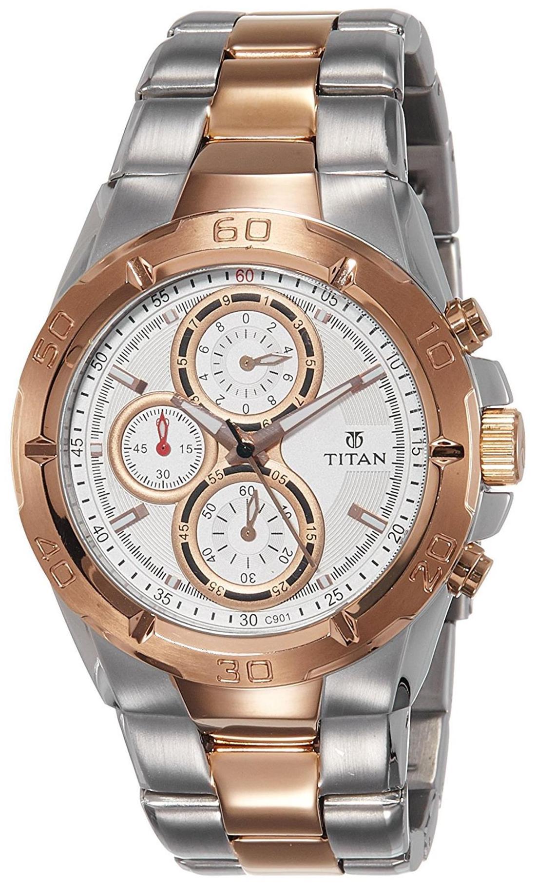 Titan Octane 9308Km01 Men Analog Watch by Watch Apeal