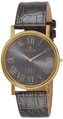 Titan Analog Grey Dial Men's Watch - 1595YL02
