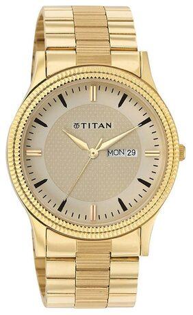 Titan 1650YM04 Quartz Men Watch