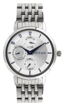 Titan Neo Analog White Dial Women's Watch-2569SM03