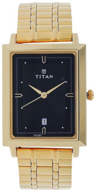 Titan NK1715YM03 Men Black - Analog Watch