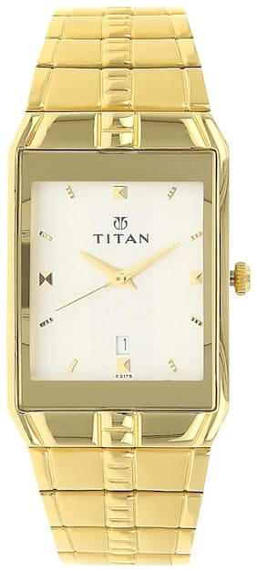 Titan NK9151YM01 Men Analog with Date Watches